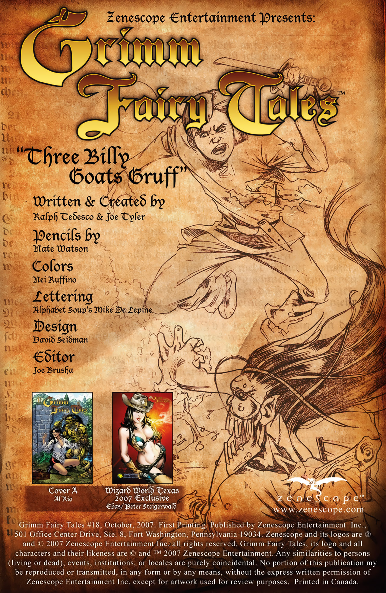 Grimm Fairy Tales (2005) Issue #18 #21 - English 2
