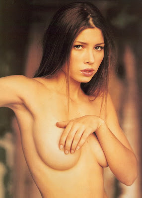 Jessica Biel Topless Photoshoot for Gear Magazine
