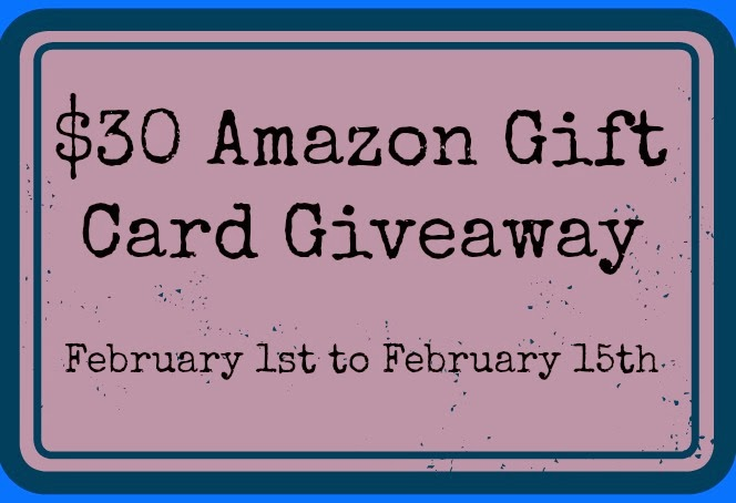Enter to win the $30 Amazon Gift Card Giveaway. Ends 2/15.
