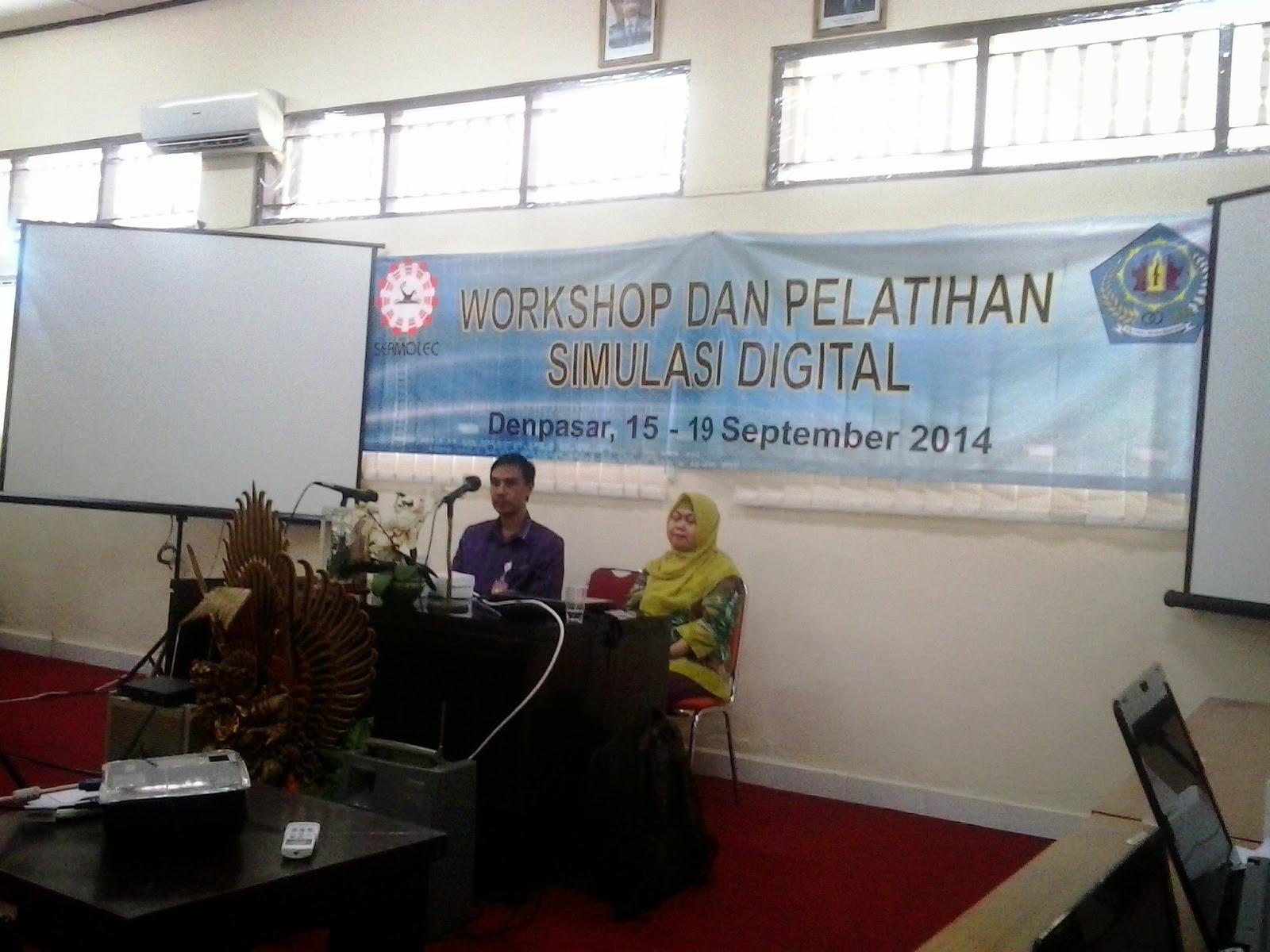 Workshop dan Pelatihan Simulasi Digital oleh Seamolec
