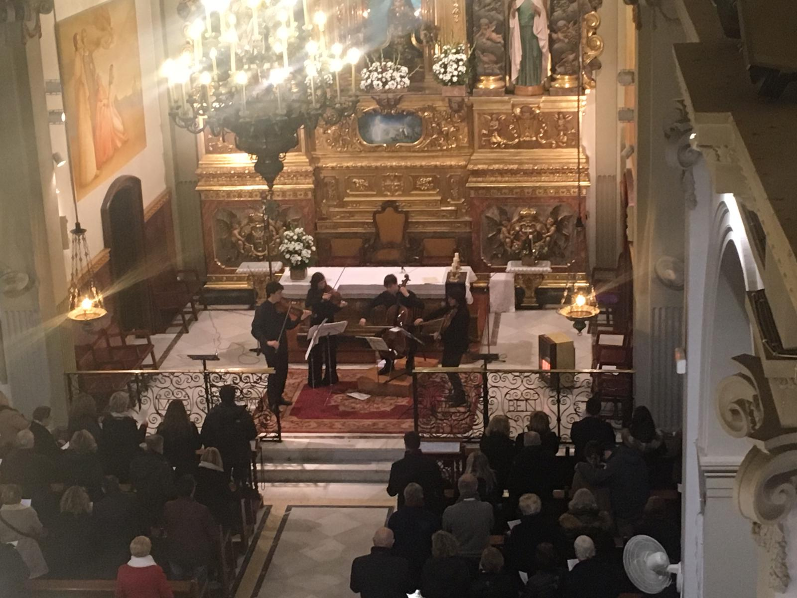 Recull de fotos del concert del Quartet Gerhard (22-12-2018)