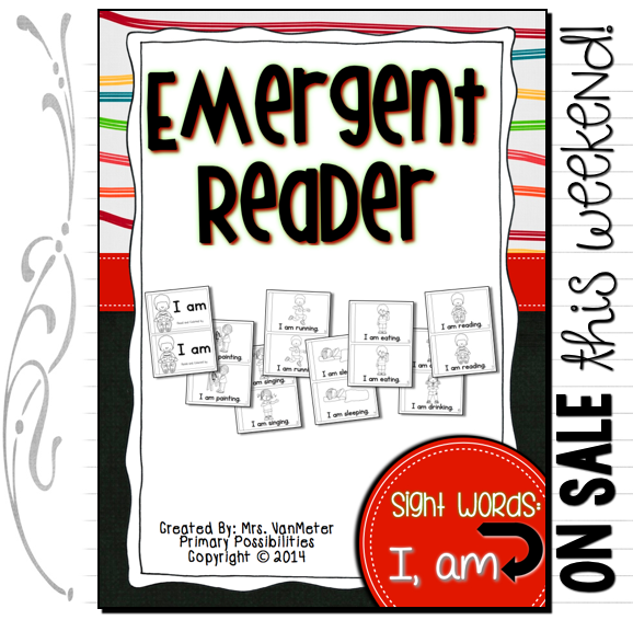 http://www.teacherspayteachers.com/Product/Sight-Word-Emergent-Reader-I-am-1284095