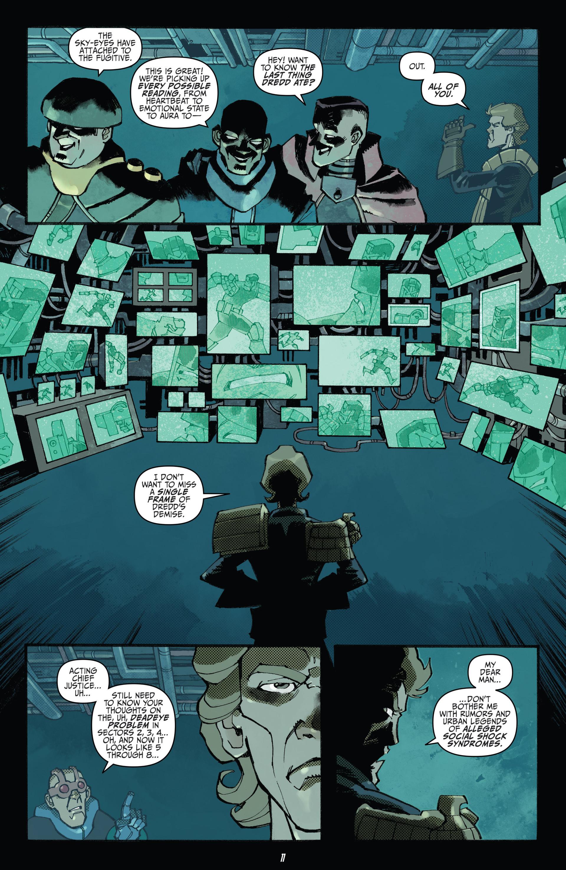 Read online Judge Dredd (2012) comic -  Issue #23 - 13