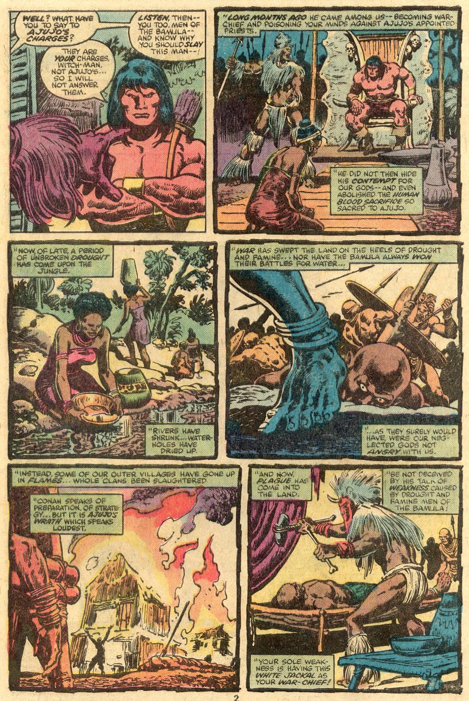 Conan the Barbarian (1970) Issue #105 #117 - English 3