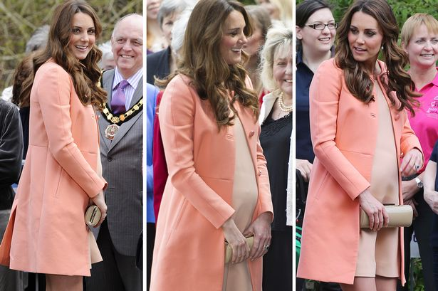 Kate Middleton's pregnancy fashion