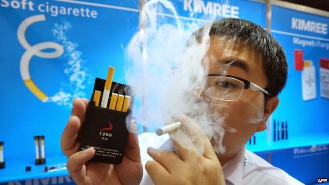 السيجارة الإلكترونية لن تنقذك من التدخين