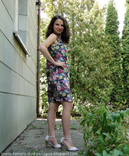 luźna sukienka na lato