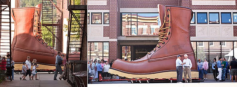 14 oz. berlin blog: A special visitor from Red Wing