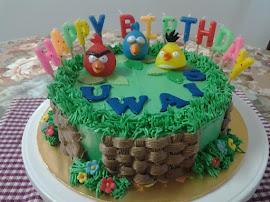 Choc Moist Cake with deco