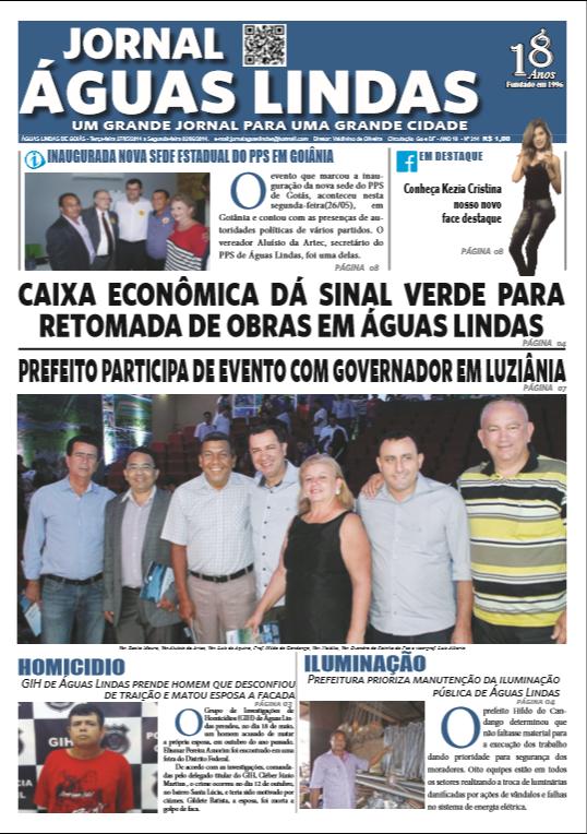 ediçao 114 do Jornal Águas Lindas