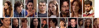 Merçe Llorens, Toni Cantó, Marc Cartes, Adriana Lavat, María Casal