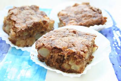 COOK WITH SUSAN: Apple Brownies or Grandma's Easy Apple Cake