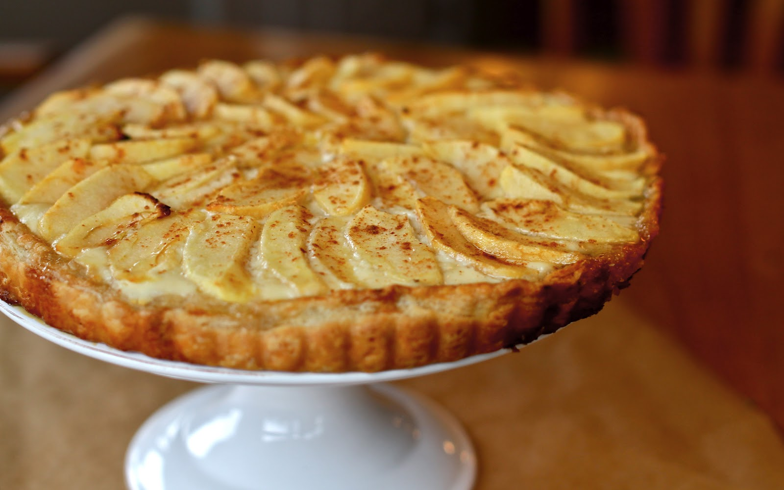 Apple, Goat Cheese, And Honey Tartlets Recipe — Dishmaps