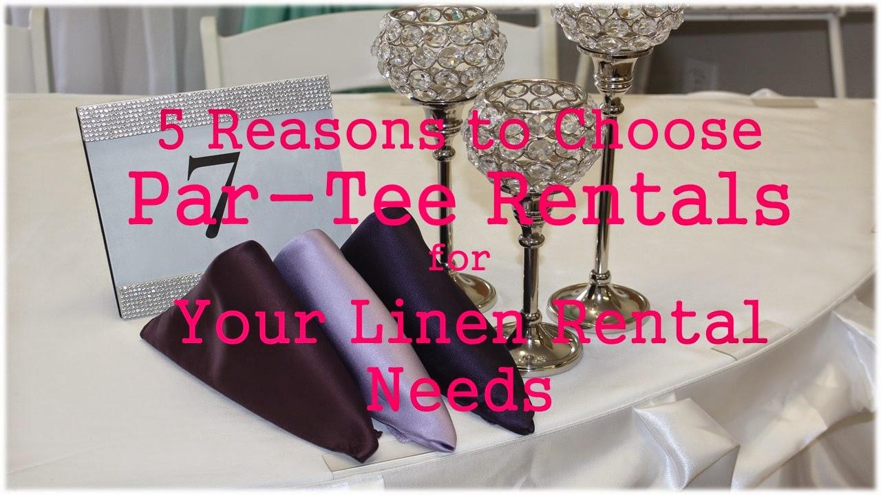 Par-Tee Rentals Blogspot