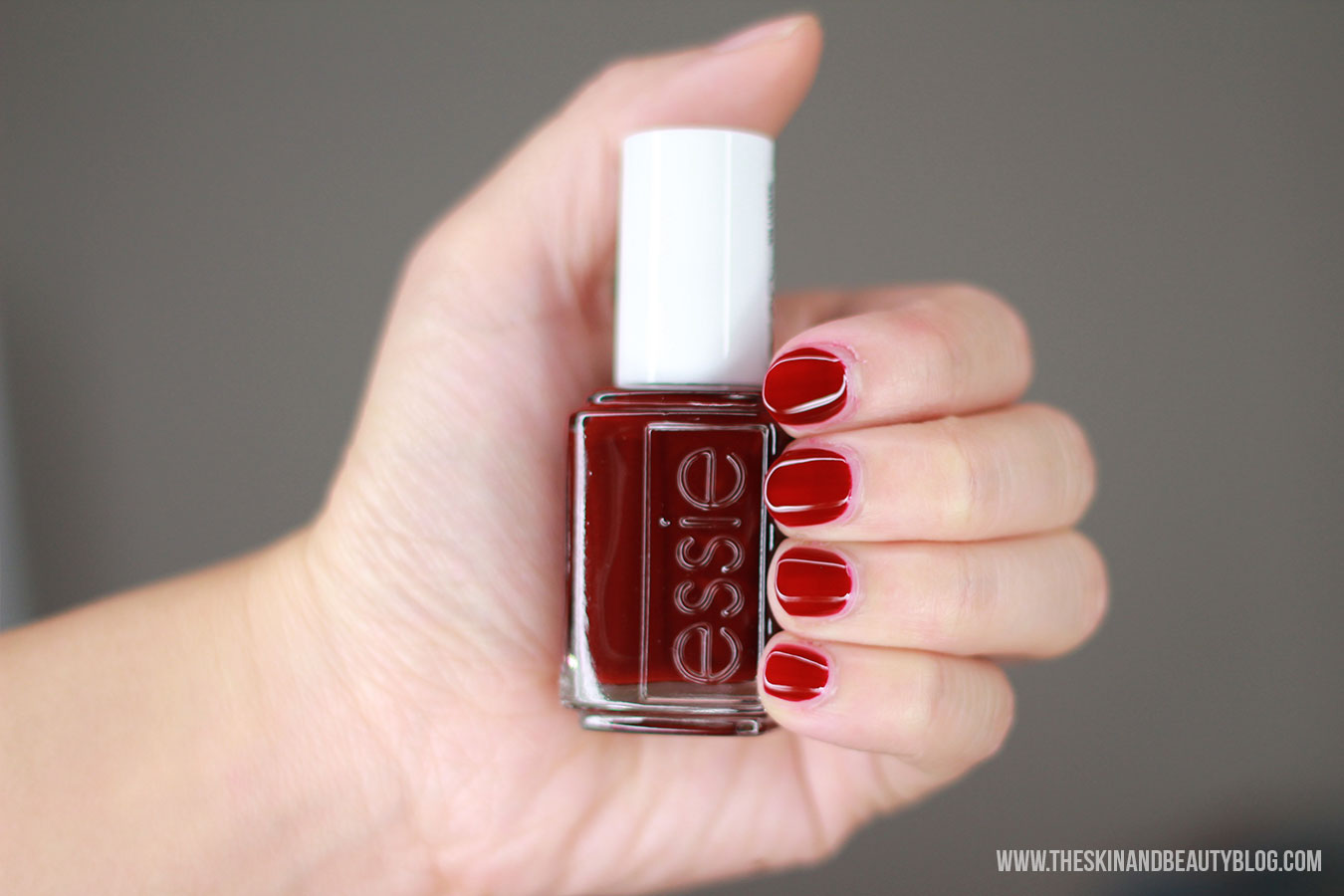 Essie Bourdeaux Nail polish review swatches