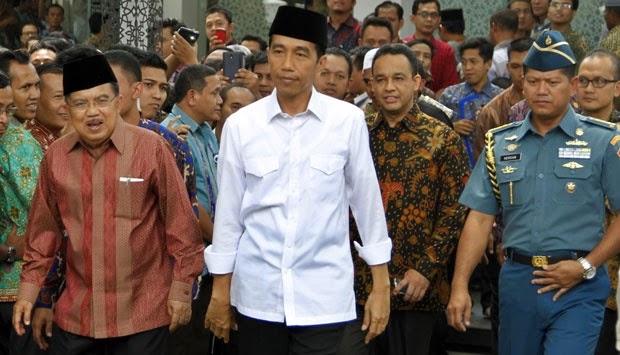 Nama Menteri Jokowi-Kalla Sudah Final