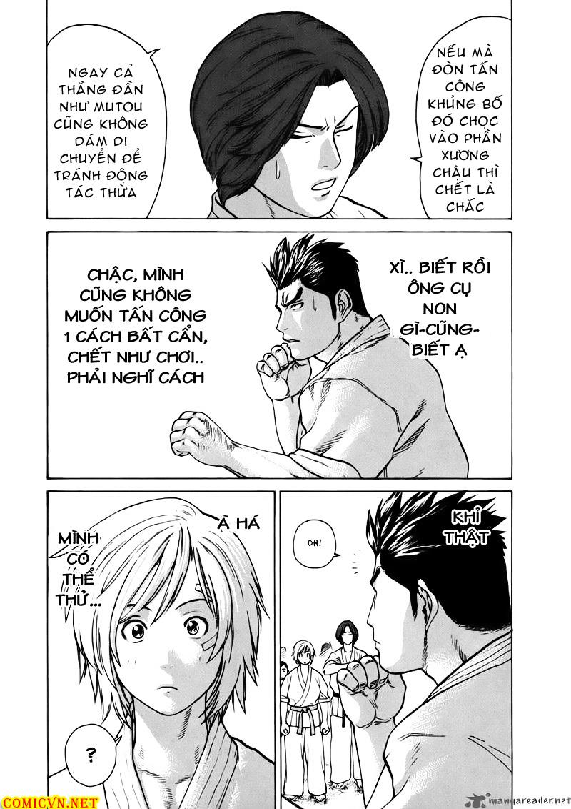 Karate Shoukoushi Kohinata Minoru chap 46 Trang 17