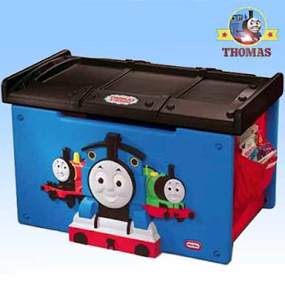 Toy storage boxes ideas Thomas the train toy box furniture chests ...