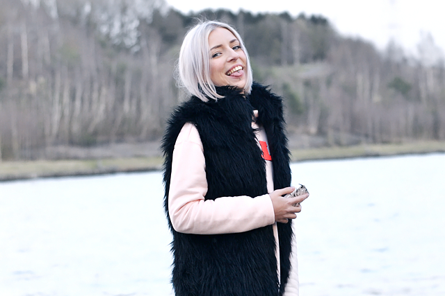 Faux fur jacket, crazy belgian blogger, mode blogger, belgie, outfit, street style