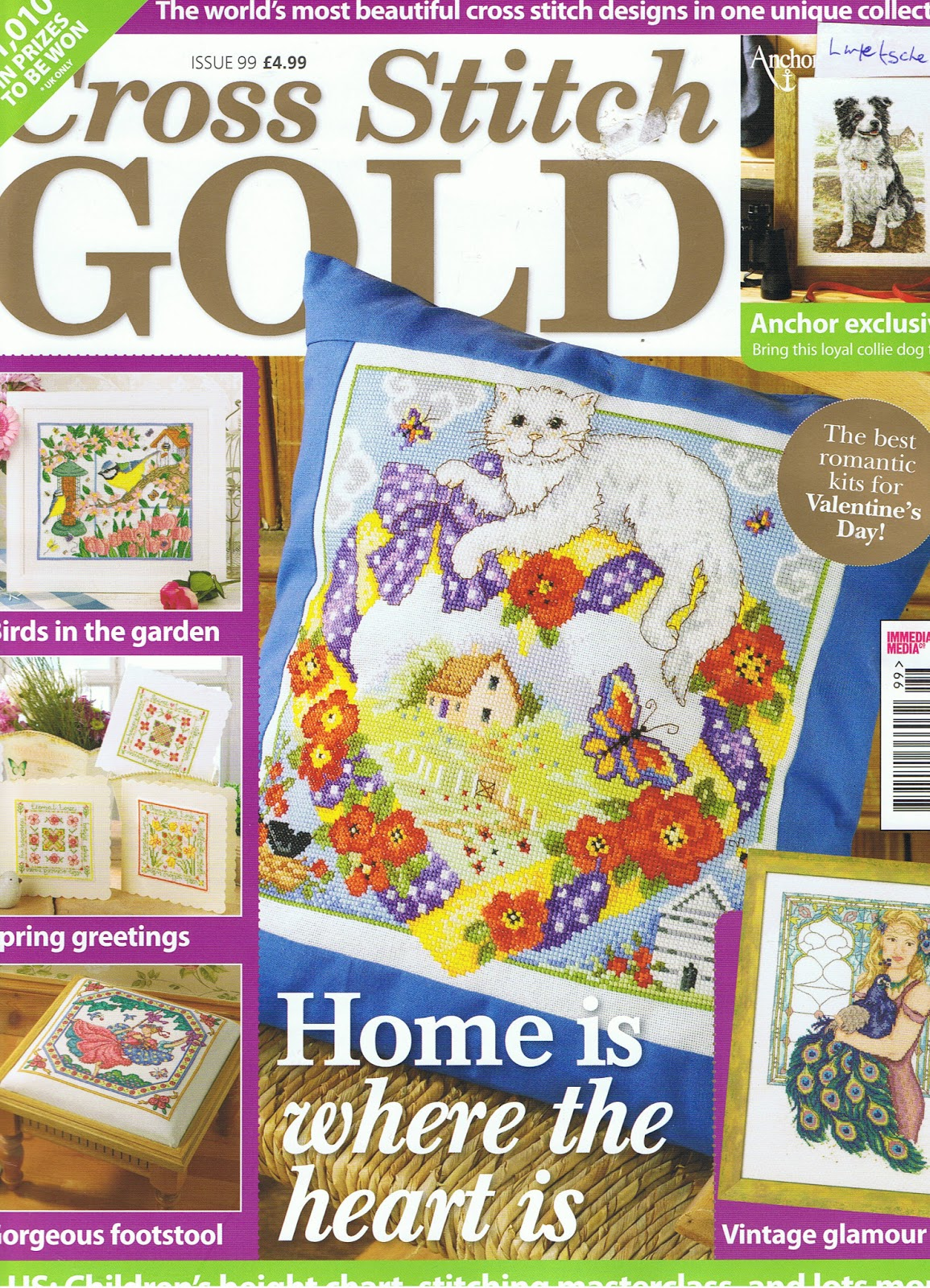 Cross Stitch Gold Issue #39 December 2013 Partridge In A Pear Tree