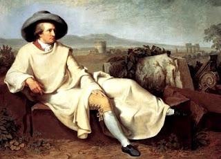 Retrato de Wolfgang Goethe