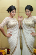 Anjali Glamorous Photos in saree at Geethanjali event-thumbnail-7