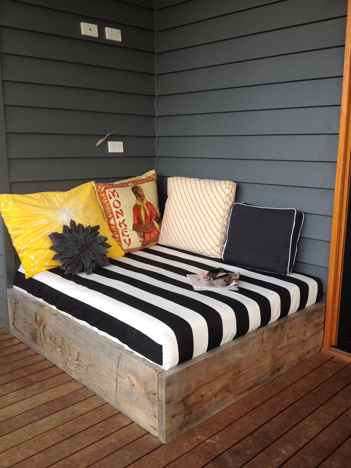 apprentice extrovert DIY Outdoor Day Bed Reveal!!
