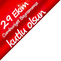 29 Ekim Cumhuriyet Bayramimiz kutlu olsun