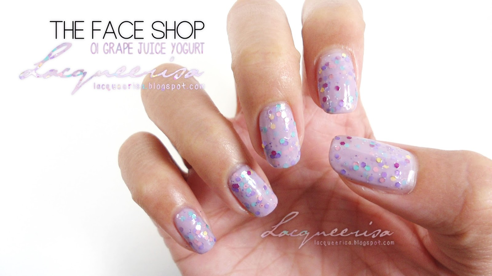 Lacqueerisa: The Face Shop Grape Juice Yogurt