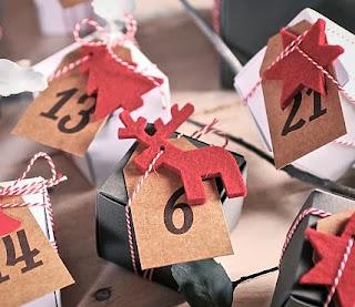 comment faire un calendrier de l'avent originale, décoration pour Noël
