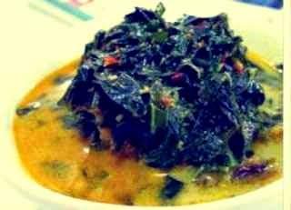 resep sayur daun singkong