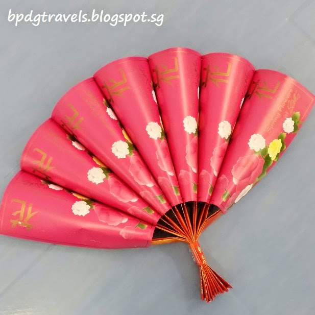 The heng family travel lifestyle blog handicraft red for Ang pow decoration craft work