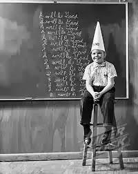 dunce's cap