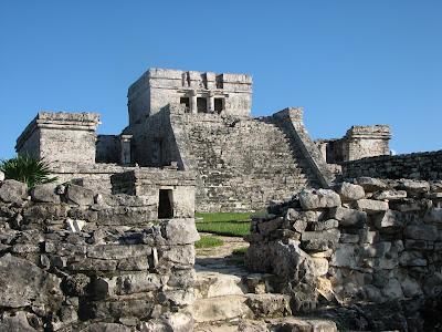 (Mexico) - Riviera Maya - Tulum Ruin