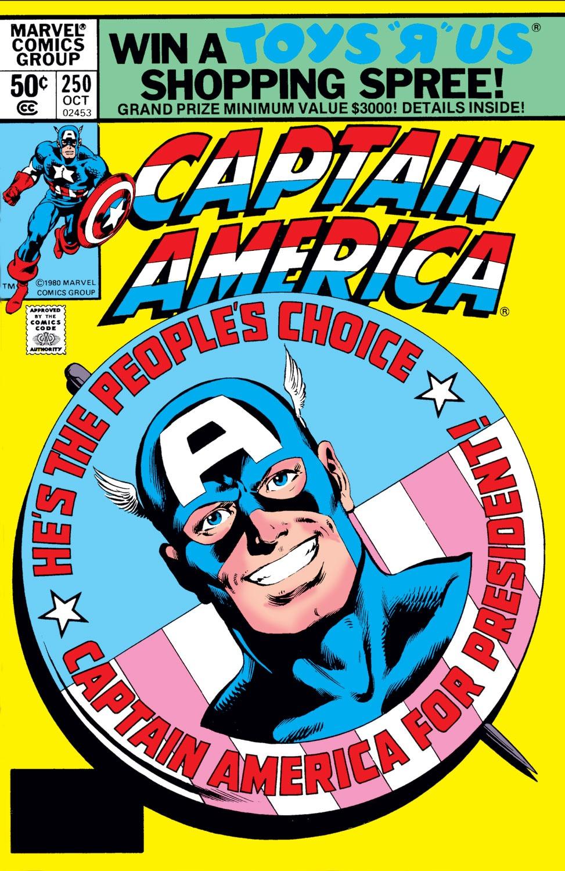 Captain America (1968) Issue #250 #165 - English 1