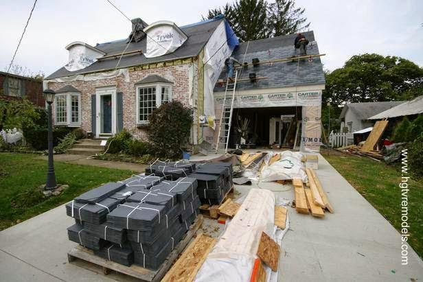 Materiales y construcción en una residencia