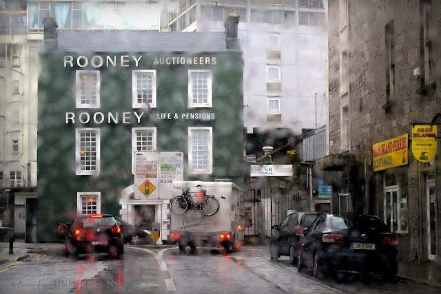 Galway in the rain
