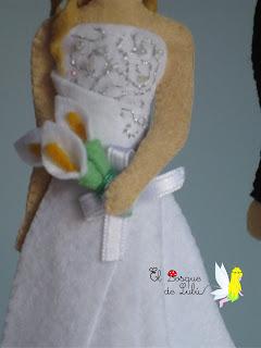 novia-fieltro-regalo-novios-tarta-nupcial-personalizados