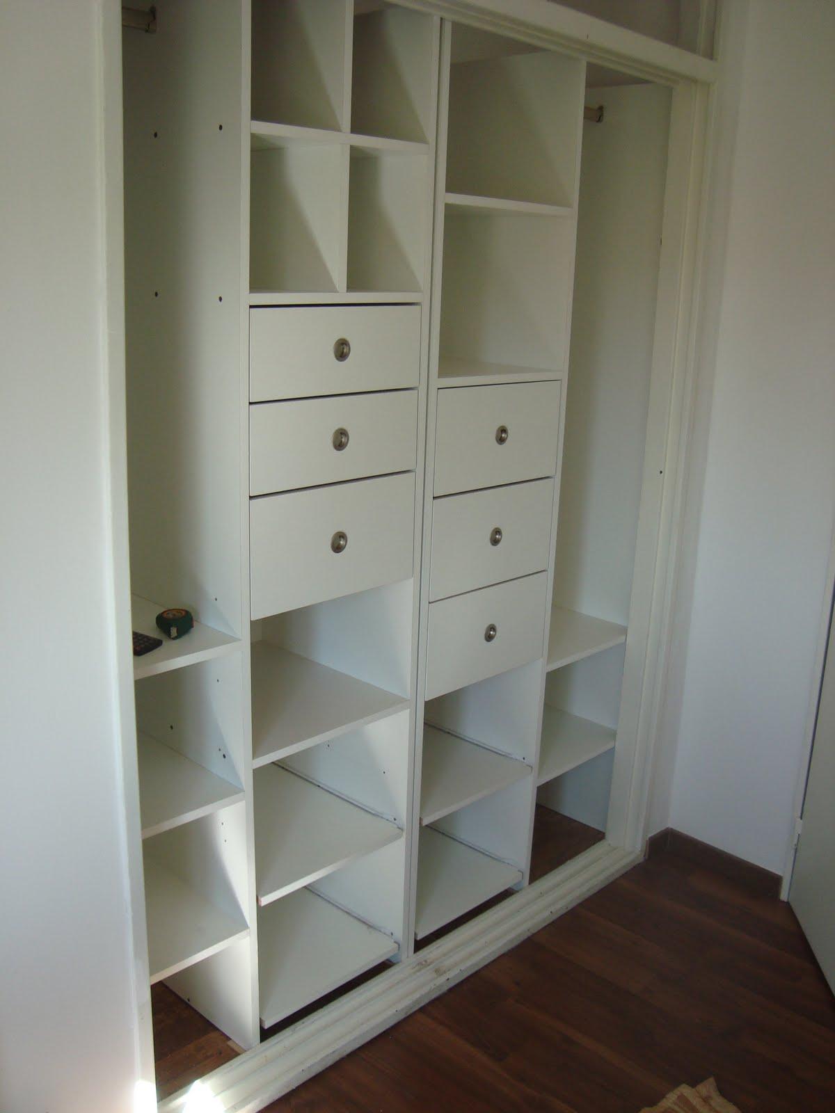 Muebles a medida interiores de placares for Diseno de placares