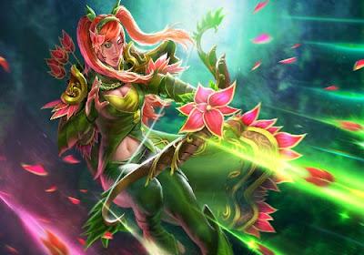 Windranger Flowersong Tempest set mod