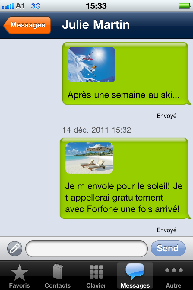 gratuit iphone 4