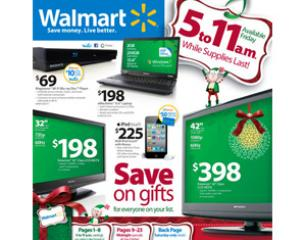 Walmart Black Friday 2011 Ad Predictions