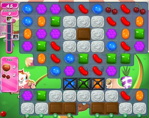 Nivel 72 de Candy Crush Saga