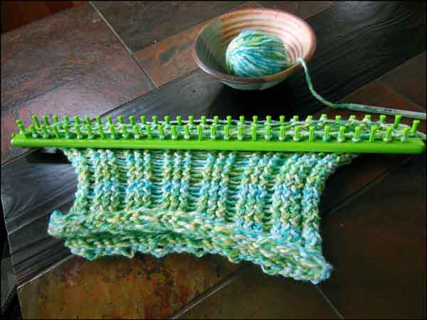 Knitting With Looms: September 2012