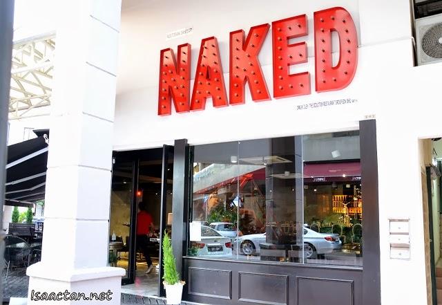 NAKED Restaurant & Bar @ Plaza Damas Sri Hartamas