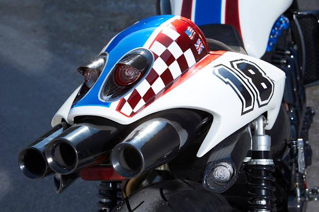 Racing Caf U00e8  Triumph Rocket Iii  U0026quot The Devils Arrow U0026quot  By Rock U0026 39 N U0026 39 Ride