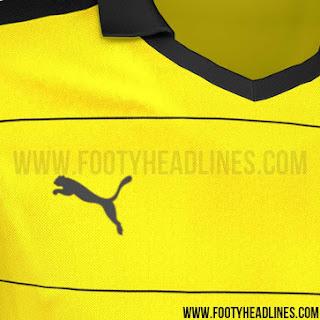 jual online baju bola online Jersey Borrusia dortmund home terbaru musim depan 2015/2016