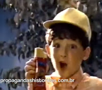 Propaganda do Lanche do Fofão - década de 80