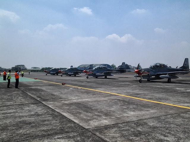TNI AU Tempatkan Pesawat Tempur Taktis Super Tucano di Papua