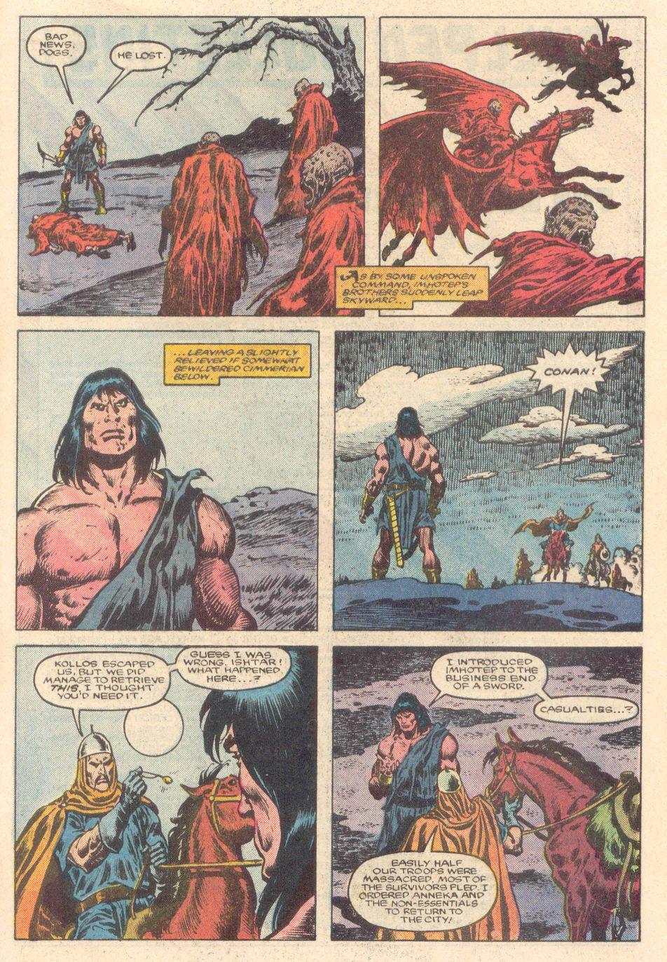 Conan the Barbarian (1970) Issue #183 #195 - English 21